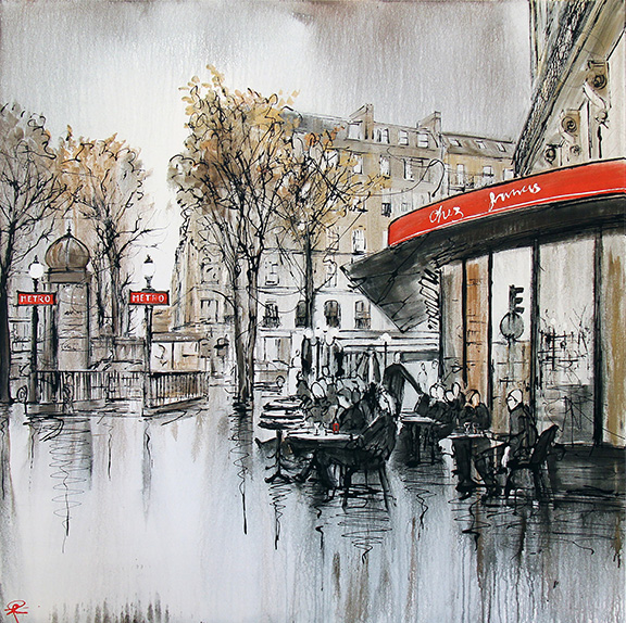 """Parisian Life"" by Paul Kenton"