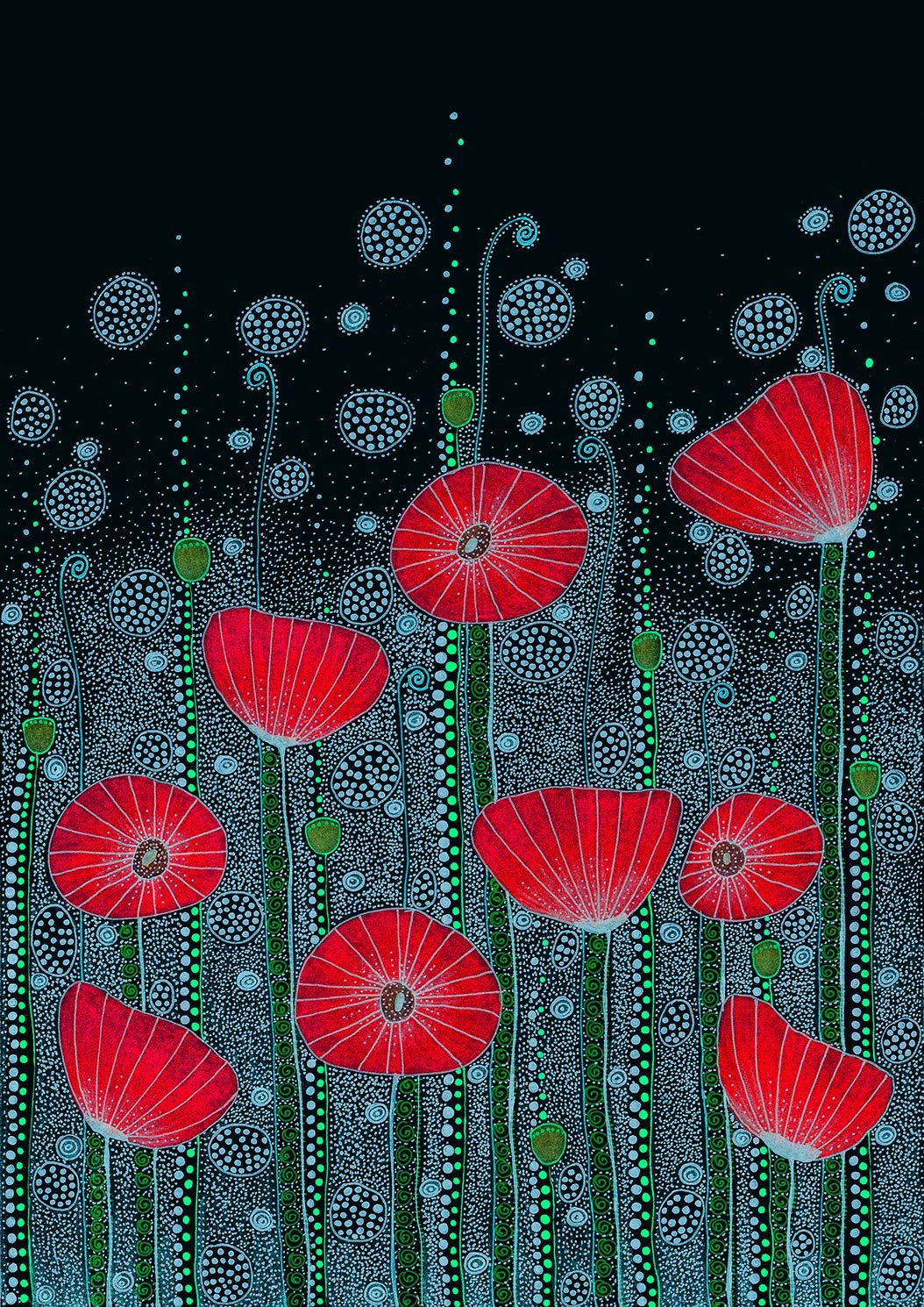 """Poppy Meadow"" by"