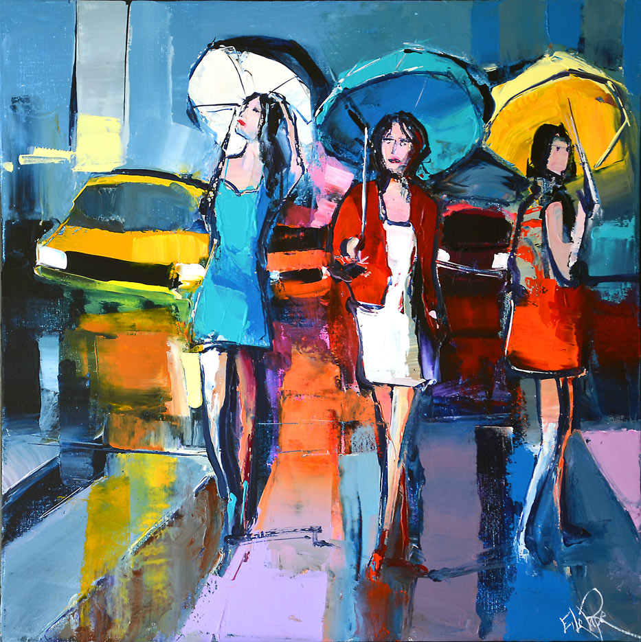 """Shopping à New York"" by Eric Le Pape"